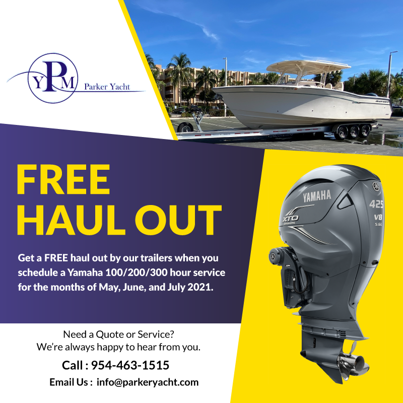 Free Haul Out Service Promotion